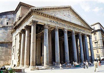 Pantheon il tempio degli dei for Esterno pantheon